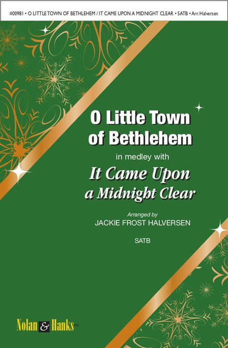 O Little Town of Bethlehem / It Came Upon a Midnight Clear - SATB | Sheet Music | Jackman Music