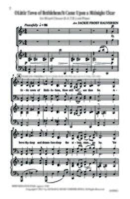 O Little Town Of Bethlehem It Came Upon A Midnight Clear Satb | Sheet Music | Jackman Music