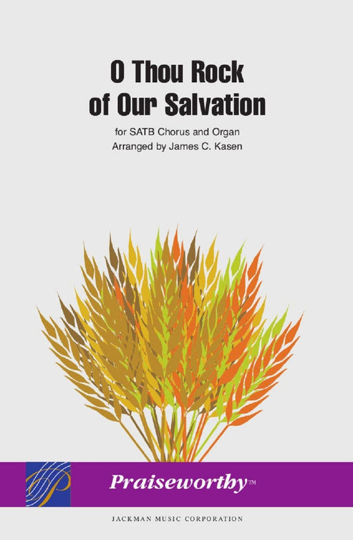 O Thou Rock of Our Salvation - Two-Part | Sheet Music | Jackman Music