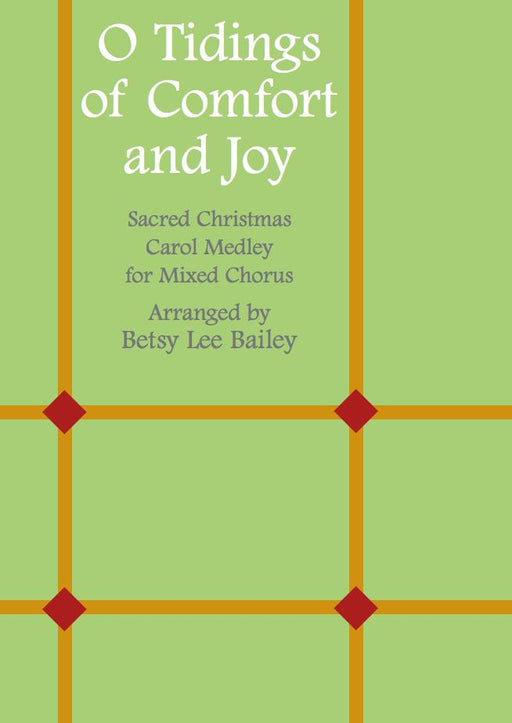 O Tidings of Comfort and Joy - SSATB
