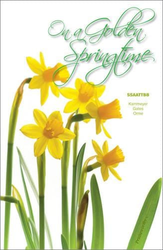 On a Golden Springtime - SSAATTB | Sheet Music | Jackman Music