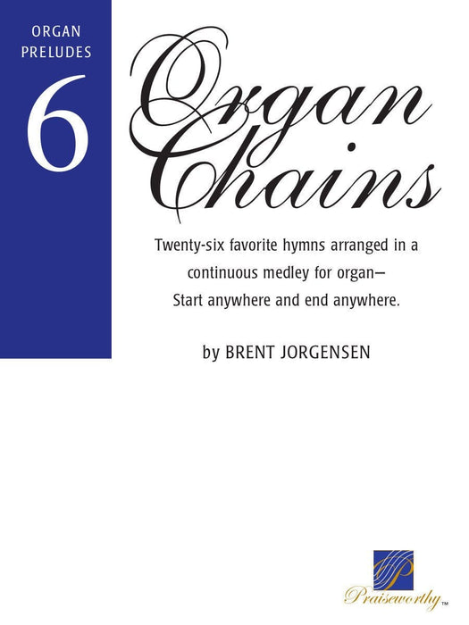 Organ Chains - Book 6 | Sheet Music | Jackman Music