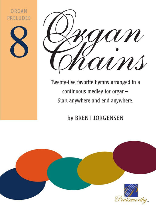 Organ Chains - Book 8 | Sheet Music | Jackman Music