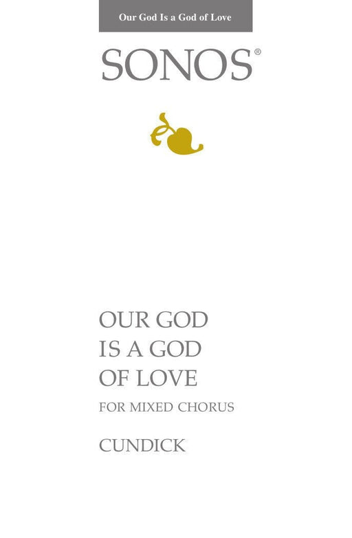 Our God Is a God of Love - SATB | Sheet Music | Jackman Music