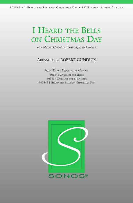 I Heard the Bells on Christmas Day - SATB