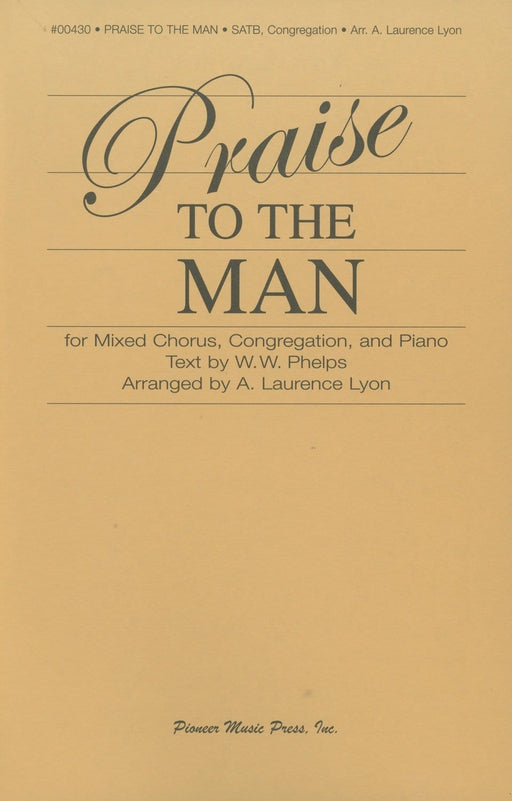Praise to the Man - Score & Parts | Sheet Music | Jackman Music