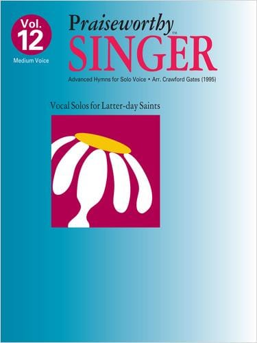 Praiseworthy Singer -  Vol. 12 (Advanced Hymns) | Sheet Music | Jackman Music