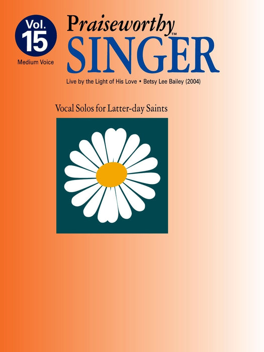 Praiseworthy Singer - Vol. 15 Acc. CD