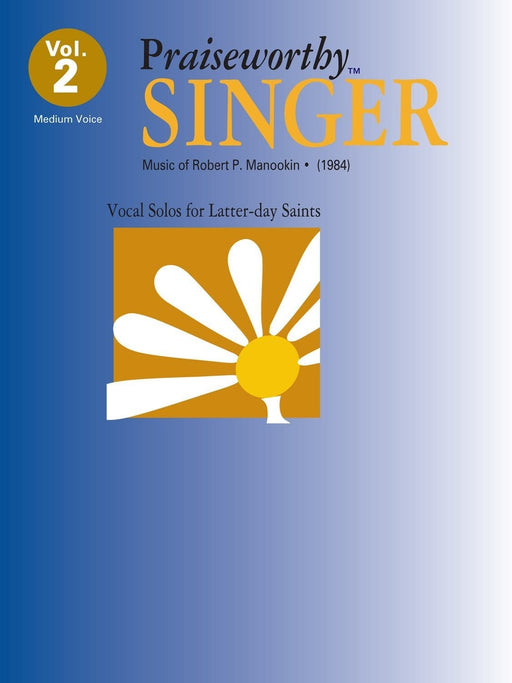 Praiseworthy Singer - Vol. 2  Acc. CD | Sheet Music | Jackman Music