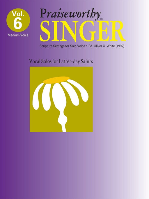 Praiseworthy Singer - Vol. 6 Acc. CD | Sheet Music | Jackman Music