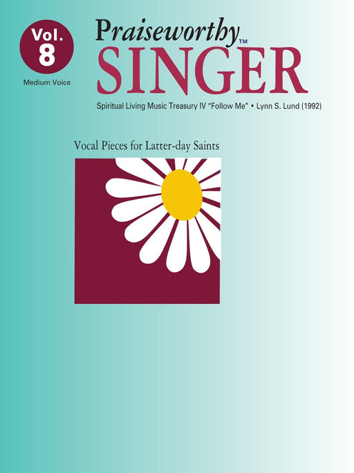 Praiseworthy Singer - Vol. 8 Acc. CD | Sheet Music | Jackman Music