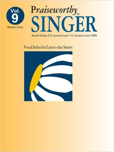 Praiseworthy Singer -  Vol. 9 (Sacred Songs) | Sheet Music | Jackman Music