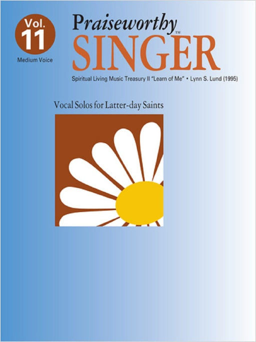Praiseworthy Singer - Vol. 11 Acc. CD | Sheet Music | Jackman Music
