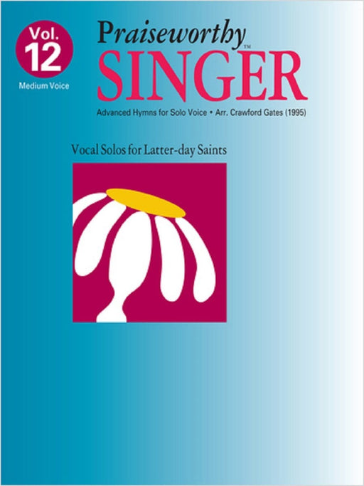 Praiseworthy Singer - Vol. 12 Acc. CD | Sheet Music | Jackman Music