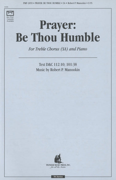 Prayer Be Thou Humble - SA | Sheet Music | Jackman Music