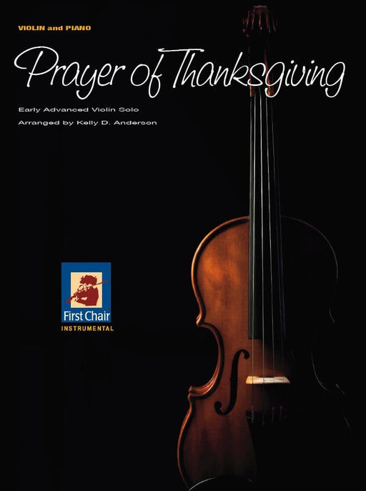 Prayer of Thanksgiving - Violin Solo | Sheet Music | Jackman Music