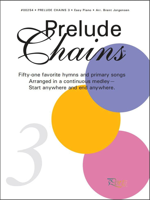 Prelude Chains - Book 3 | Sheet Music | Jackman Music