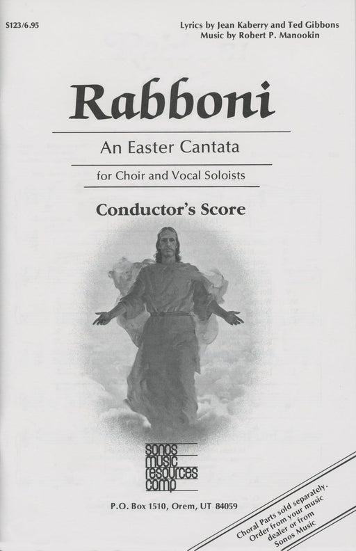 Rabboni - Conductor's Score | Sheet Music | Jackman Music