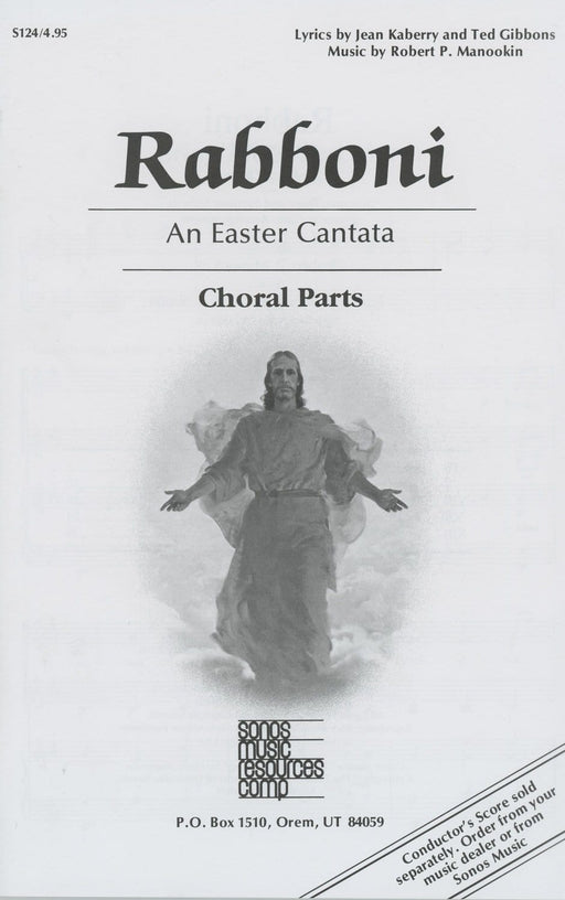 Rabboni - choral only