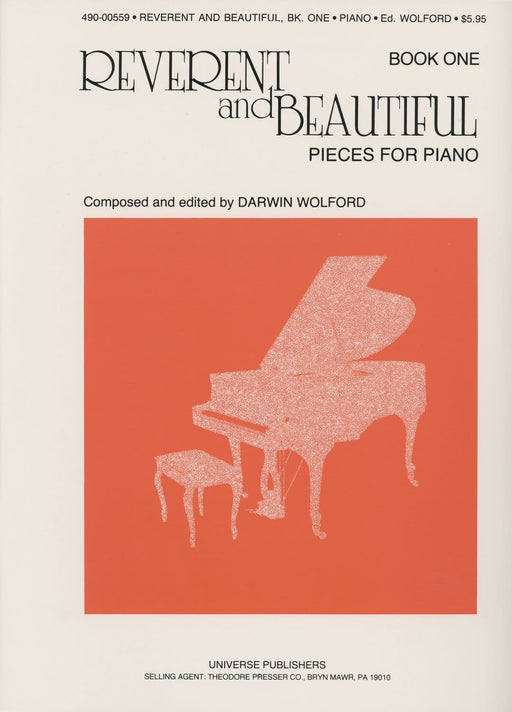 Reverent and Beautiful Pieces for Piano, Book 1 - Piano Solos | Sheet Music | Jackman Music