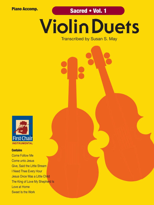 Sacred Violin Duets Vol. 1 - Intermediate