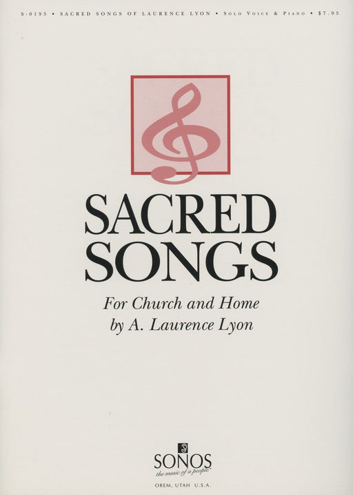 Sacred Songs of Laurence Lyon - Vocal Solos | Sheet Music | Jackman Music