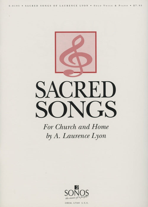 Sacred Songs of Laurence Lyon - Vocal Solos