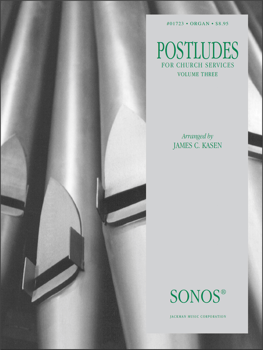 Postludes - Vol 3 - Organ | Sheet Music | Jackman Music