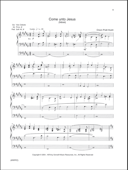 From The Tabernacle Vol 1 | Sheet Music | Jackman Music