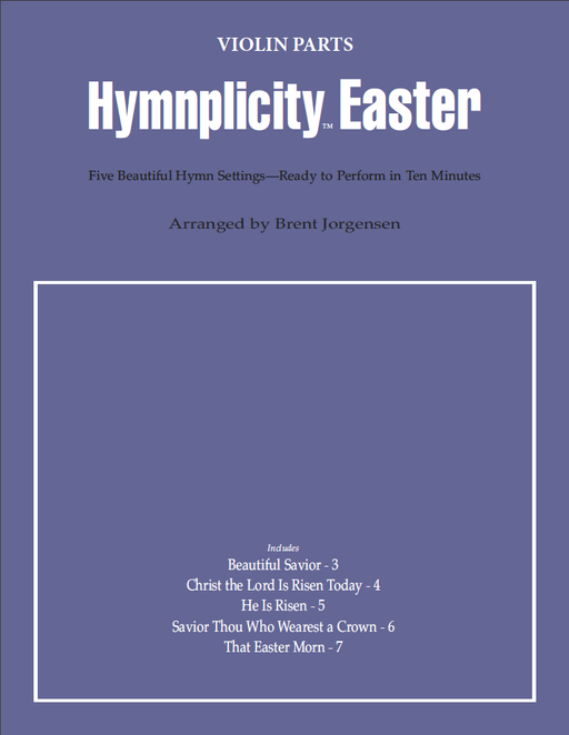 Hymnplicity Easter - Violin Parts | Sheet Music | Jackman Music