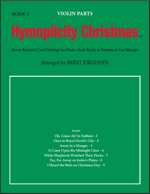 Hymnplicity Christmas - Book 1 Violin Parts | Sheet Music | Jackman Music