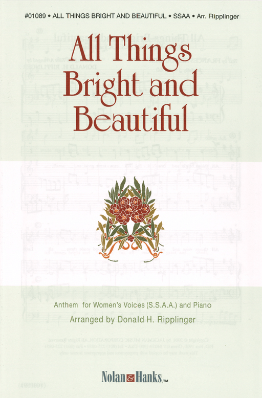 All Things Bright and Beautiful - SSAA