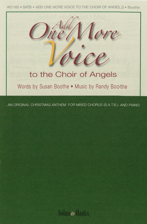 Add One More Voice - SATB