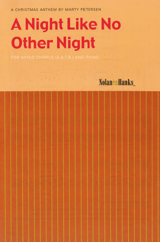 A Night Like No Other - SATB