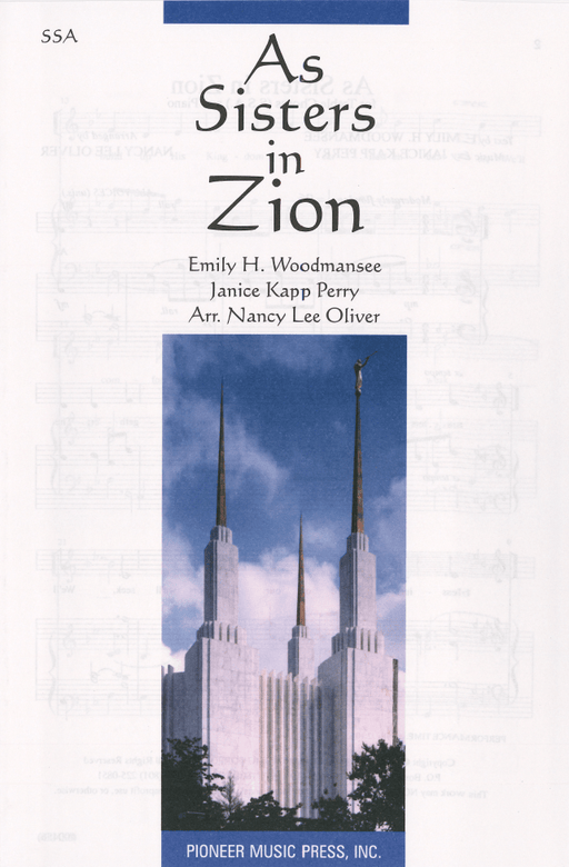 As Sisters in Zion - SSA