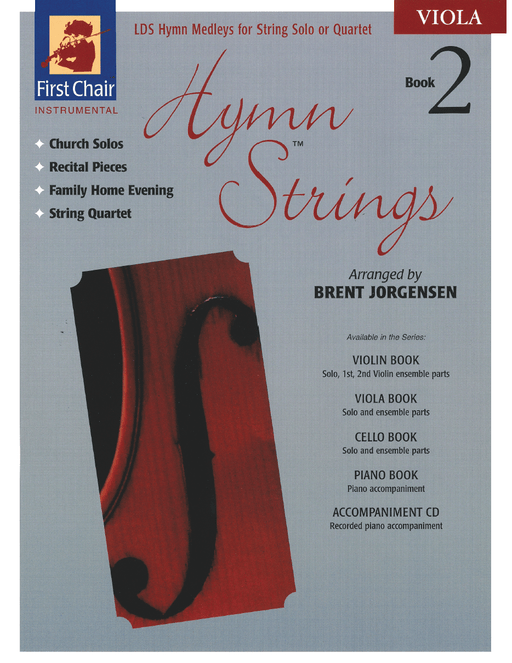 Hymn Strings Book 2 - Viola | Sheet Music | Jackman Music
