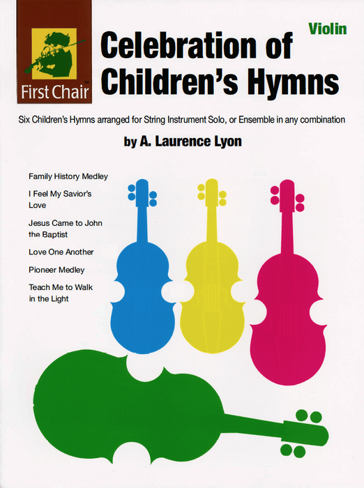 Celebration of Children's Hymns - Violin