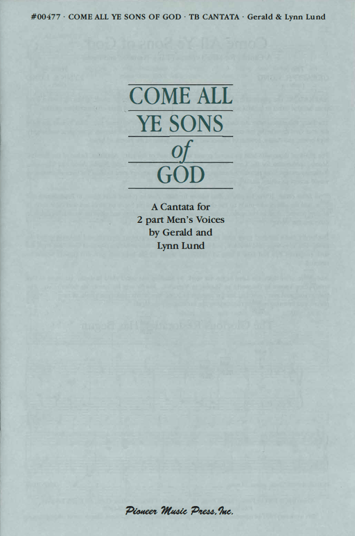 Come All Ye Sons of God - TB Cantata