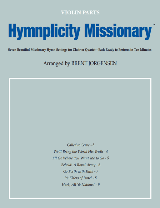 Hymnplicity Missionary - Violin Parts