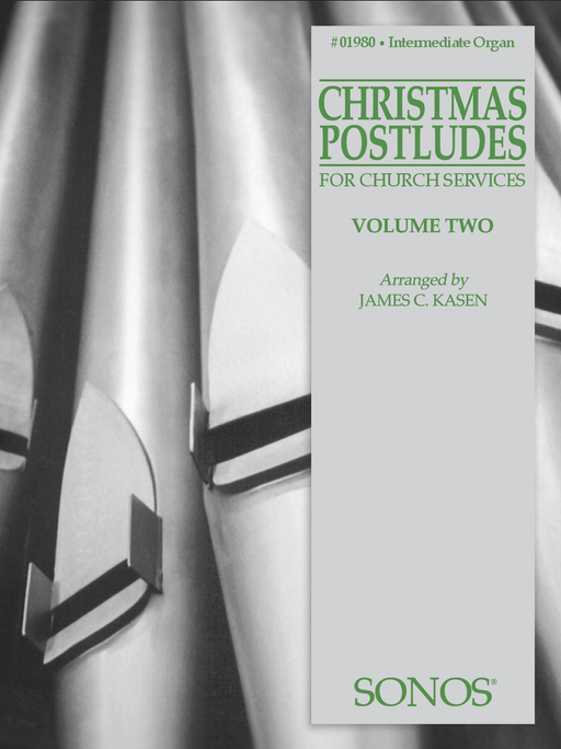 Christmas Postludes - Vol. 2 - Organ | Sheet Music | Jackman Music