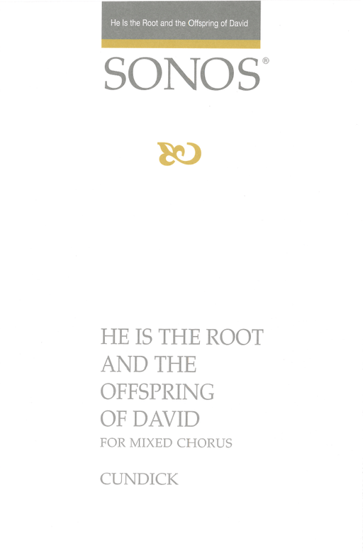 He Is the Root and the Offspring of David - SSAATTBB | Sheet Music | Jackman Music