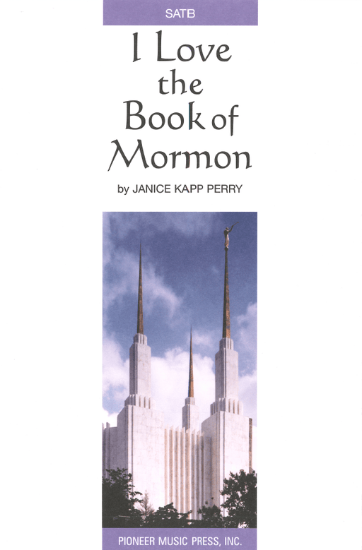 I Love the Book of Mormon - SATB | Sheet Music | Jackman Music