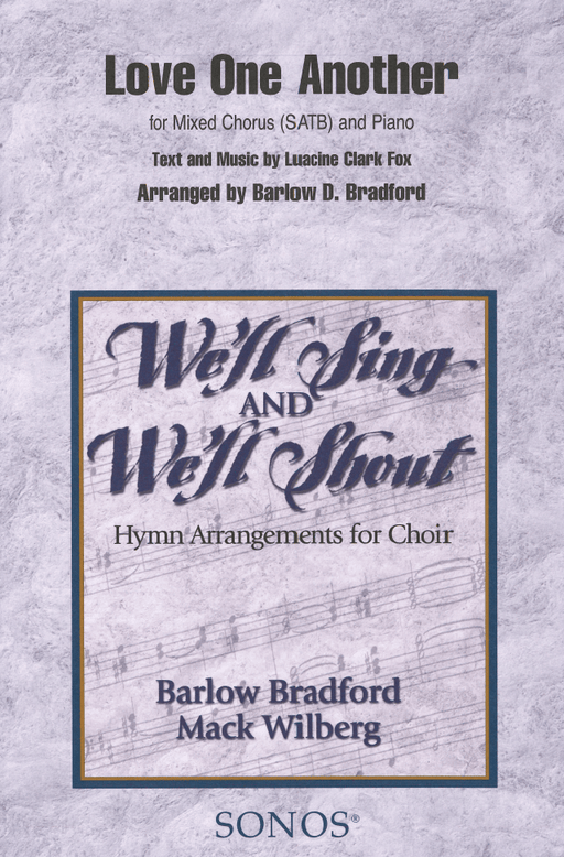 Love One Another - SATB - Bradford | Sheet Music | Jackman Music