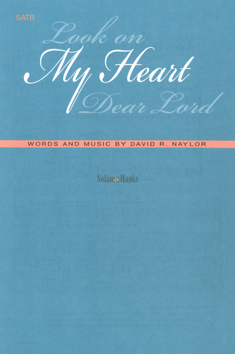 Look On My Heart Dear Lord - SATB | Sheet Music | Jackman Music