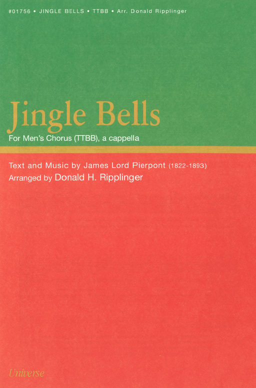 Jingle Bells - TTBB, a cappella | Sheet Music | Jackman Music