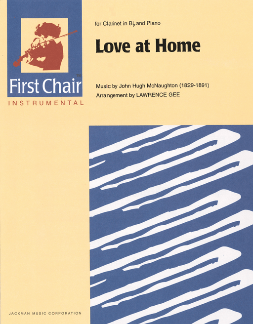 Love at Home - Clarinet solo | Sheet Music | Jackman Music