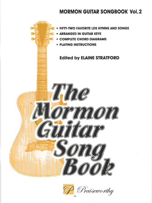Mormon Guitar Songbook Vol 2 | Sheet Music | Jackman Music