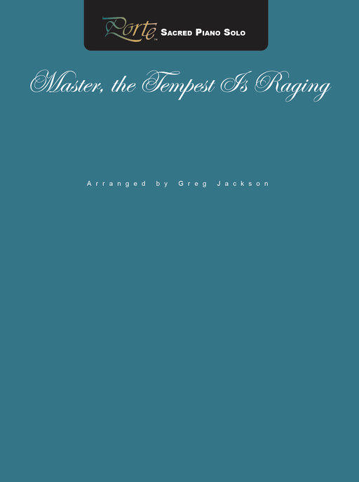 Master the Tempest Is Raging - PS | Sheet Music | Jackman Music