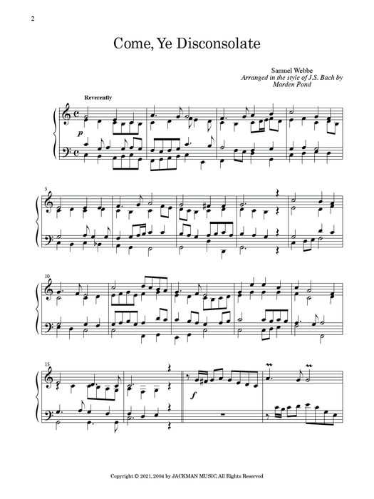 Masters Touch Vol. 2 PS | Sheet Music | Jackman Music
