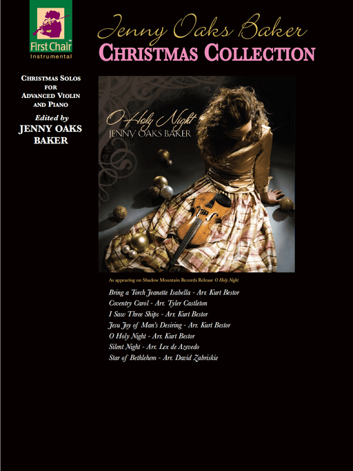 Jenny Oaks Baker Christmas Collection - Violin | Jackman Music